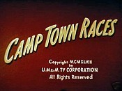 Camptown Races Picture Of Cartoon