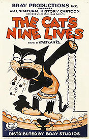 The Cat's Nine Lives Cartoon Picture