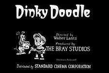 Dinky Doodle Theatrical Cartoon Series Logo