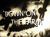 Down On The Farm Cartoon Picture