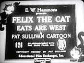 Felix In Eats Are West Cartoon Character Picture