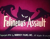 Felineous Assault Cartoon Funny Pictures