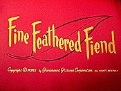 Fine Feathered Fiend Pictures Cartoons