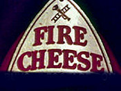 Fire Cheese Cartoon Picture