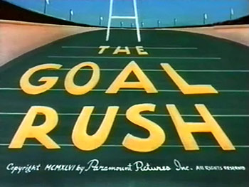 The Goal Rush Cartoon Picture