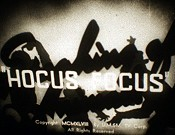 Hocus Focus Picture Of Cartoon