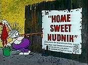 Home Sweet Nudnik Cartoon Picture
