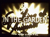 In The Garden Picture To Cartoon