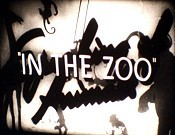 In The Zoo Free Cartoon Picture