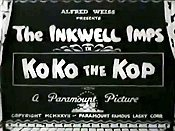 KoKo The Kop Cartoon Picture