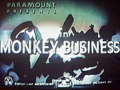 Monkey Business Cartoon Picture
