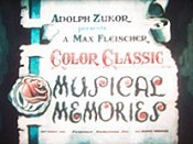 Musical Memories Picture Of Cartoon