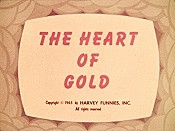 The Heart Of Gold Cartoon Picture
