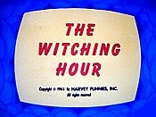 The Witching Hour Cartoon Picture