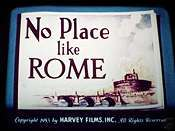 No Place Like Rome Cartoon Picture