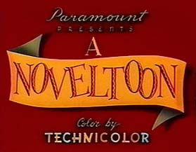 Noveltoons Theatrical Cartoon Series Logo