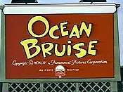 Ocean Bruise Cartoon Picture