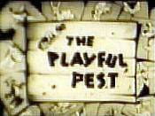 The Playful Pest Cartoon Picture