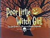 Poor Little Witch Girl The Cartoon Pictures