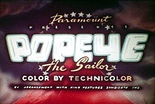 Popeye the Sailor Theatrical Cartoon Series Logo