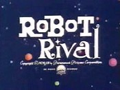 Robot Rival Free Cartoon Picture