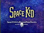 Space Kid Cartoon Picture
