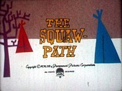 The Squaw-Path Cartoon Picture