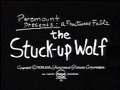 The Stuck-Up Wolf Cartoon Character Picture