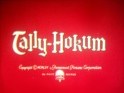 Tally-Hokum Cartoon Picture