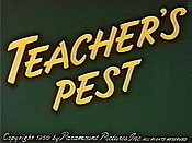 Teacher's Pest Cartoon Picture