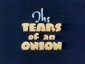 The Tears Of An Onion Cartoon Picture