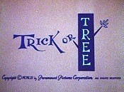 Trick Or Tree Pictures Cartoons