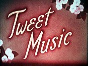 Tweet Music Cartoon Picture