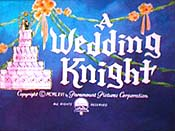 A Wedding Knight Free Cartoon Picture