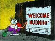 Welcome Nudnik Free Cartoon Picture