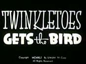 Twinkletoes Gets The Bird