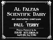 Al Falfa's Scientific Diary Cartoon Picture