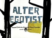 Alter Egotist Cartoon Picture
