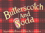 Butterscotch And Soda Cartoon Character Picture