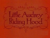 Little Audrey Riding Hood Cartoon Picture