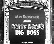 Betty Boop's Big Boss The Cartoon Pictures