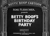 Betty Boop's Birthday Party Pictures In Cartoon