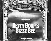 Betty Boop's Bizzy Bee The Cartoon Pictures
