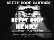 Betty Boop With Henry The Funniest Living American Free Cartoon Picture