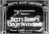Betty Boop's Crazy Inventions Cartoon Character Picture