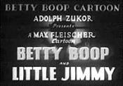 Betty Boop And Little Jimmy The Cartoon Pictures