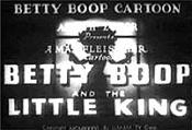 Betty Boop And The Little King Free Cartoon Pictures