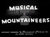 Musical Mountaineers Free Cartoon Picture