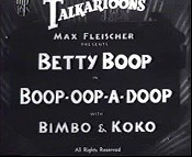 Boop-Oop-A-Doop Picture Into Cartoon