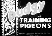 Training Pigeons Picture Into Cartoon